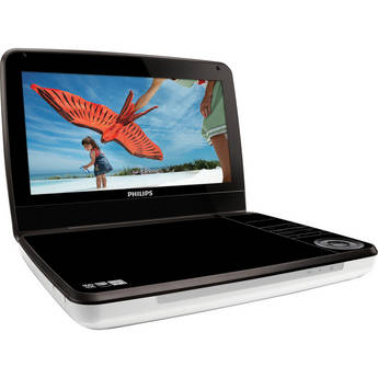 """Philips PD9000 9"""" Portable Multi-System DVD Player"""