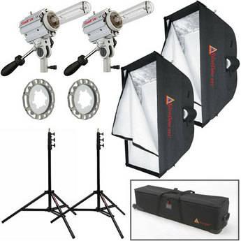Photoflex Starlite QL Medium Location Two-Light Softbox Kit (120VAC)