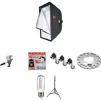 Photoflex Starlite QL SilverDome 1 Softbox Light Kit (220V)