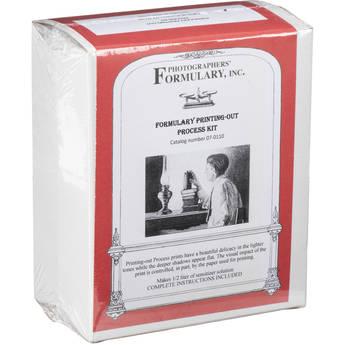 Photographers' Formulary Salted (Plain) Paper Kit - 1/2 Liter
