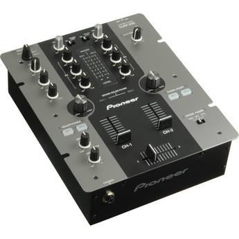 Pioneer DJM-250 2-Channel DJ Mixer (Black)
