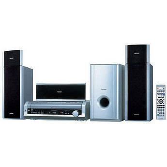 Pioneer HTD-88DVD 600W 5 Disk Multi-System Home Theater