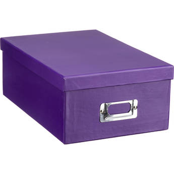 Pioneer Photo Albums Photo Storage Box (Bright Purple)