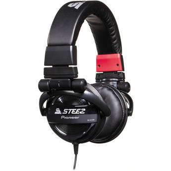 Pioneer Steez Dubstep On-Ear Stereo Headphones (Black)