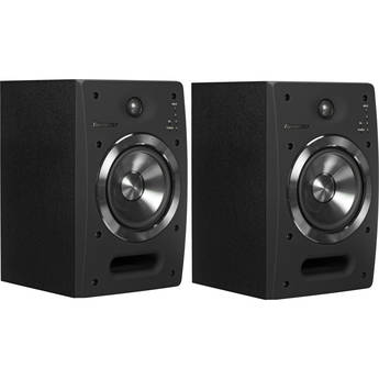 "Pioneer S-DJ05 5"" Active 2-Way Reference Monitoring Speakers (Pair, Black)"