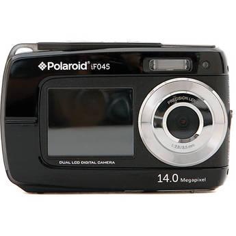 Polaroid iF045 Digital Camera (Black)