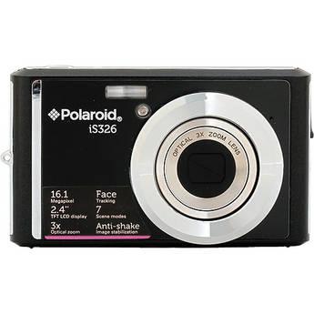 Polaroid iS326 Digital Camera (Black)