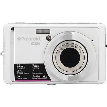 Polaroid iS326 Digital Camera (White)