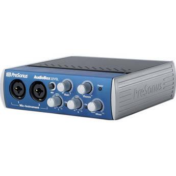 PreSonus AudioBox 22VSL - USB 2.0 Recording System