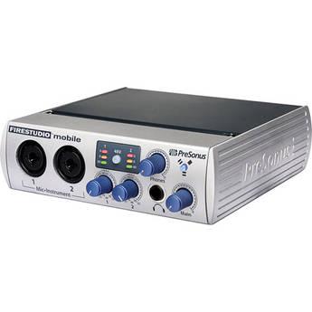 PreSonus FireStudio Mobile - 10 x 6 FireWire Computer Audio Interface