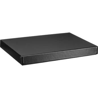 Print File Black Archival Portfolio Box with White Lining - 11.25 x 14.25 x 1-3/8""