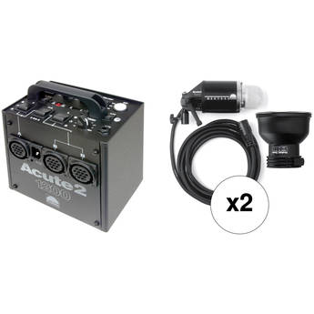 Profoto Acute 2 1200W/s 2 Head ProValue Pack (90-260V)