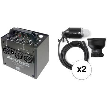 Profoto Acute 2 1200W/s 2 Head ProValue Pack (90-260V)