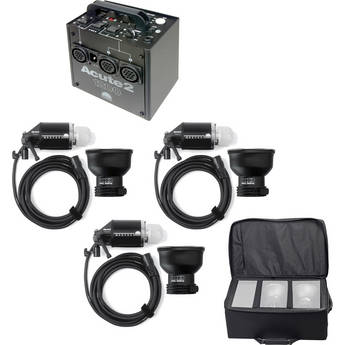 Profoto Acute 2 1200W/s 2 Head Value Pack Kit (90-260V) - FREE Additional Head