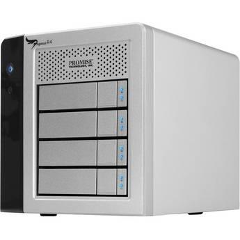 Promise Technology 4TB Pegasus R4 RAID Storage with Thunderbolt (4x 1TB)
