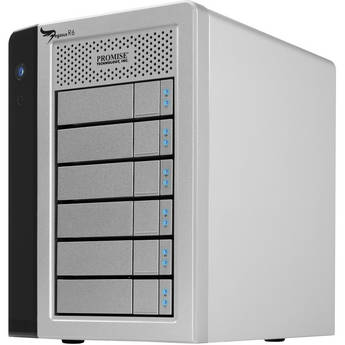 Promise Technology 18TB Pegasus R6 Direct Attached Storage RAID Array