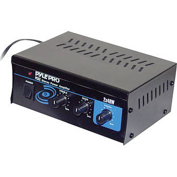 Pyle Pro PCA2 Mini 2 x 40W Stereo Power Amplifier
