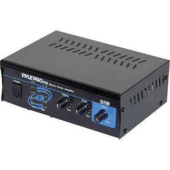 Pyle Pro PCA3 Mini 2 x 75W Stereo Power Amplifier