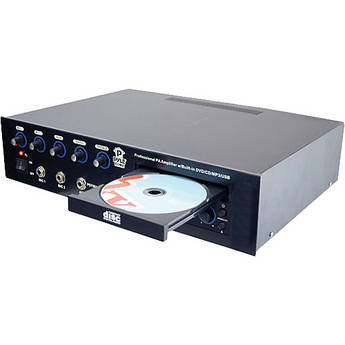 Pyle Pro PD750A  700W Multi-Voltage Amplifier with DVD/MP3/USB Player