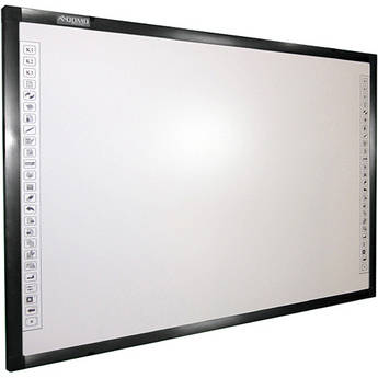 "QOMO HiteVision QWB300EM 88"" (2235.2mm) Electromagnetic Interactive Whiteboard"