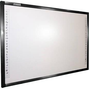 "QOMO HiteVision QWB300EM 88"" Diagonal Interactive EM Whiteboard"