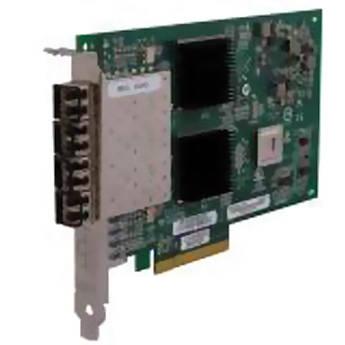 Q-Logic 2400 Series QLE2464 4 Gbps Quad-Port Fiber Channel to x8 PCIe Adapter