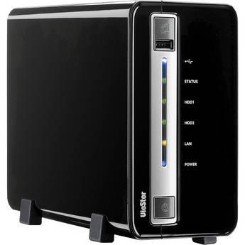 Qnap VS-2008L-US VioStor Network Video Recorder (8-channel, 2 Bay)