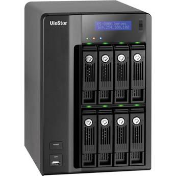 Qnap 24-CH VioStor NVR Network Video Recorder