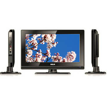 """RCA DECK15DR 15.6"""" AC/DC LED TV With DVD Player"""