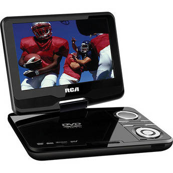 "RCA DPDM90R 9"" DVD Player With Digital TV"