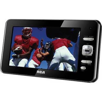 "RCA 7"" ATSC Portable Digital TV"