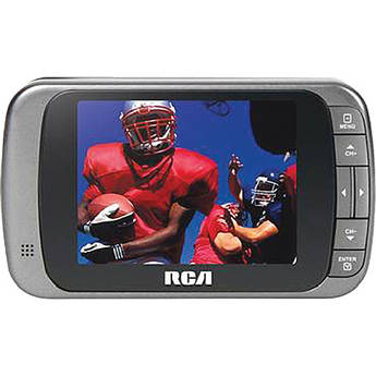 "RCA 3.5"" LED Portable Digital TV (Gray)"