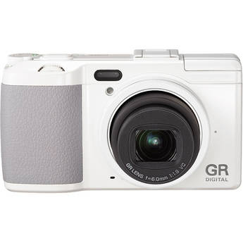 Ricoh GR DIGITAL IV Digital Camera (White)