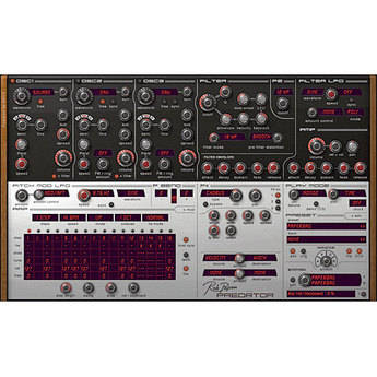 Rob Papen Predator - Virtual Synthesizer Plug-In
