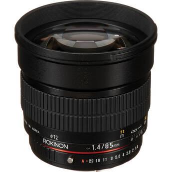 Rokinon 85mm f/1.4 Aspherical Lens for Pentax