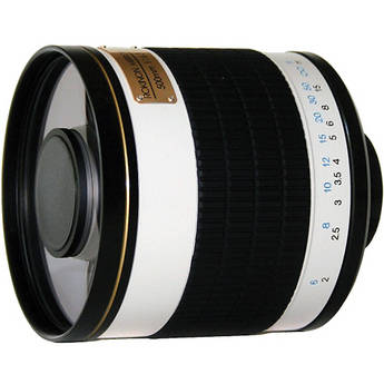 Rokinon 500mm f/6.3 Mirror T-Mount Lens (Tan)