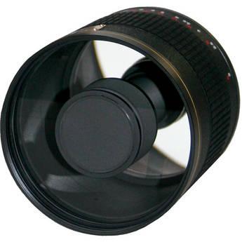 Rokinon 500mm f/6.3 Mirror T-Mount Lens (Black)