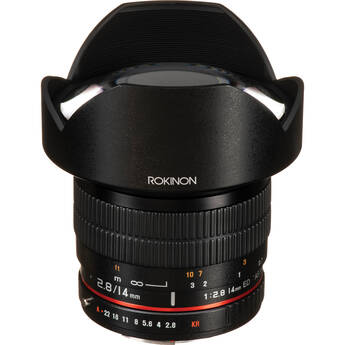 Rokinon 14mm Ultra Wide-Angle f/2.8 IF ED UMC Lens For Pentax