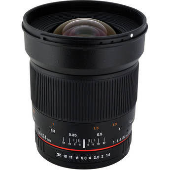 Rokinon 24mm f/1.4 ED AS UMC Wide-Angle Lens for Sony