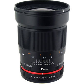 Rokinon 35mm f/1.4 AS UMC Lens for Pentax K