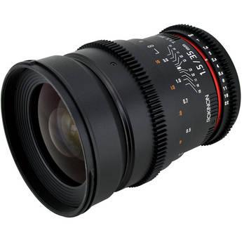 Rokinon 35mm T1.5 Cine AS UMC Lens for Sony A Mount