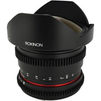 Rokinon 8mm T3.8 Cine UMC Fish-Eye CS II Lens for Nikon F Mount