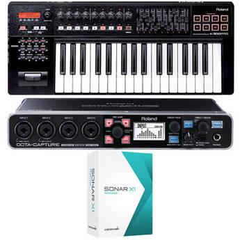 Roland Mobile Pak Pro - Mobile Music Production Bundle