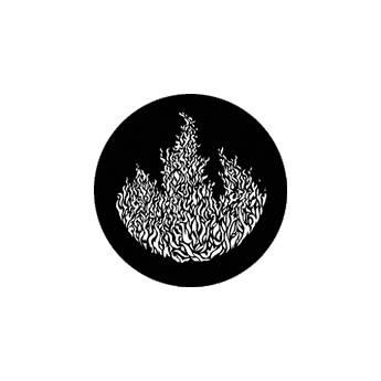 Rosco Standard Steel Gobo #7859 - Flames 3
