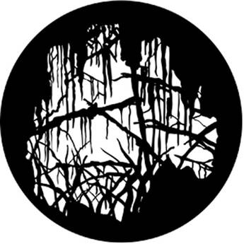 Rosco Steel Gobo #7862 - Spooky Wood