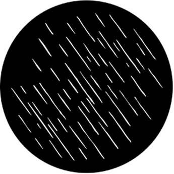 Rosco Steel Gobo #7882 - Shower