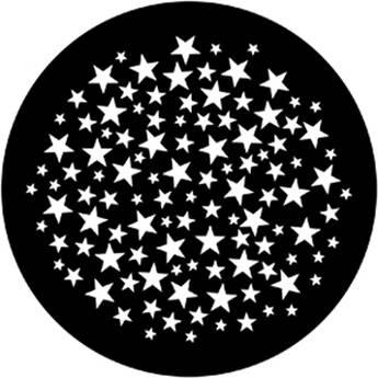 Rosco Standard Steel Gobo #7932 - Stars 6