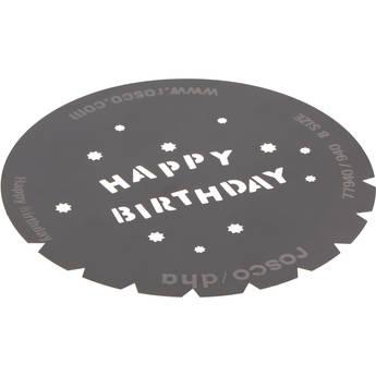 Rosco Steel Gobo #7940 - Happy Birthday