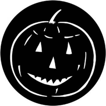 Rosco Standard Steel Gobo #7948 - Pumpkin
