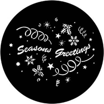 Rosco Steel Gobo #7983 - Season's Greetings